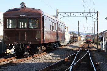 2019年1月5日、大雄山駅。