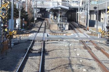 2019年1月17日 10時半ころ、大泉学園、到着する下り列車の車内から。<br><br>