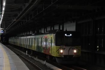 2019年1月26日 6時11分ころ、練馬、通過する20158Fの上り回送列車。