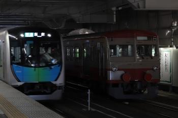 2019年1月26日、所沢、40103Fの4119レと並んだ1253F。