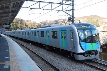2019年1月27日 9時32分ころ、芦ケ久保、西武秩父方から回送されてきた40103F。