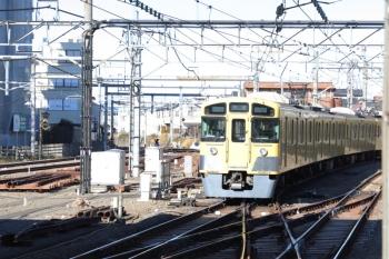 2019年1月27日 13時36分ころ、所沢、通過した2087Fの上り回送列車。