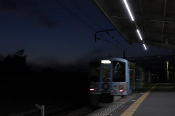 2019年3月3日 17時40分ころ、元加治、通過する4009F(52席)の下り列車。