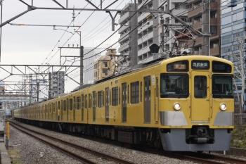 2019年2月5日、高田馬場~下落合、2455F+2003Fの2644レ。