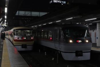 2019年2月6日、所沢、10105Fの27レ(左)と10109Fの38レ。