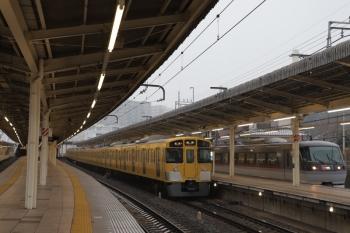 2019年2月9日、入間市、2063Fの5118レと10111Fの34レ。