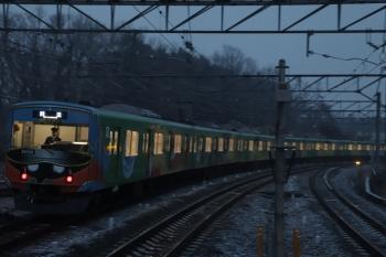 2019年2月9日 17時20分ころ、入間市、4番ホームを通過した20158Fの上り回送列車。
