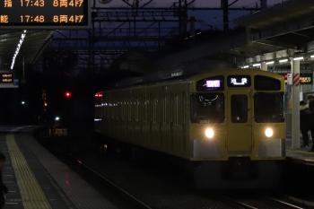 2019年2月16日。西所沢。2091Fの1002レ。