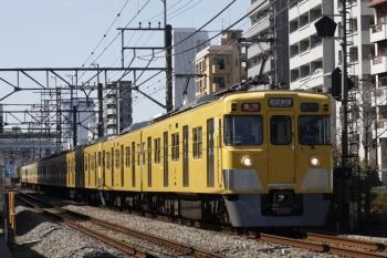 2019年3月8日。高田馬場~下落合。2405F+2001Fの2644レ。