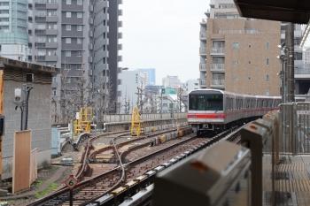 2019年3月10日。後楽園。使用停止だった電留線が復活してました。