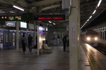 2019年3月15日。入間市。到着する1011Fの47レ(右)と20103Fの2207レ。