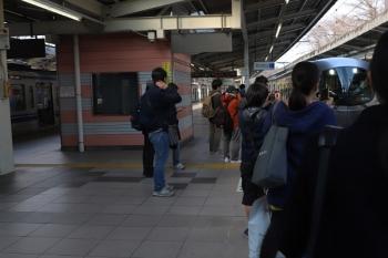 2019年3月16日。入間市。到着する001-A編成の67レ。一般の人にも注目されてました。