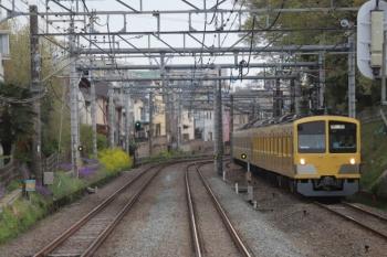 2019年4月14日。秋津〜所沢。JR連絡線を走る263F+1249Fを4129レの車内から撮影。
