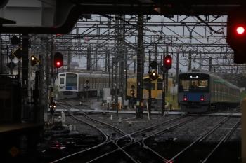 2019年4月30日 5時30分ころ。所沢。20108Fの上り回送列車。