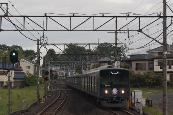 2019年5月22日。元加治。20104Fの上り回送列車。