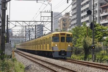 2019年5月27日。高田馬場〜下落合。2003F+2407Fの2332レ。