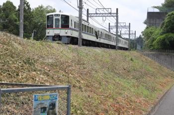 2019年6月1日 12時9分ころ。武蔵丘〜高麗。4017Fの高麗ゆき各停。