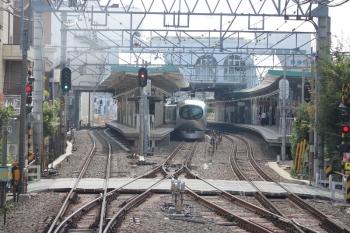 2019年6月8日 15時3分ころ。保谷。001-C編成の上り回送列車。臨時特急列車の送り込みと思われます。