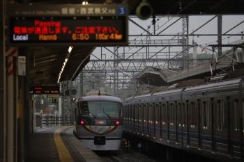2019年6月9日。西所沢。3番ホームを通過する10103Fの61レ。