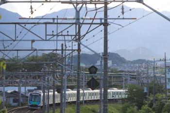 2019年6月16日。仏子〜元加治。40104FのS-Train 404レ。