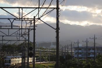 2019年6月16日 18時30分ころ。仏子〜元加治。4003F+4021Fの下り回送列車。