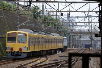 2019年7月6日 15時4分ころ。新秋津。通過したEF65-2127+西武1249Fの甲種鉄道車両輸送列車。