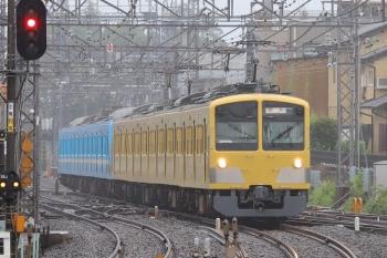2019年7月7日 15時半ころ。西所沢。263F+1251Fの下り回送列車。