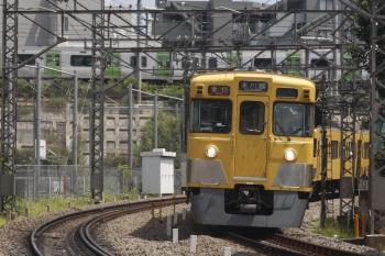 2019年8月9日。高田馬場〜下落合。2405F+2065Fの2645レと山手線のE235系。