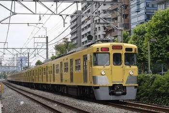 2009年6月16日、高田馬場~下落合、(<-西武新宿)2419F+2093Fの2754レ。