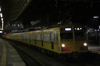 2009年6月18日、西所沢、到着する4869レの(<-飯能)271F+1303F。