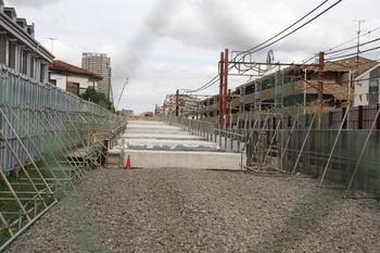 2009年6月20日、石神井公園~大泉学園、石神井公園第4号踏切から石神井公園駅方を向いて撮影。
