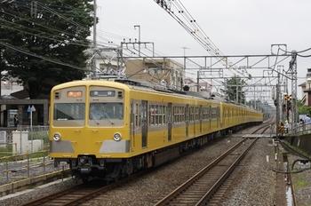 2009年6月21日、秋津、(<-飯能)271F+1303Fの2164レ。