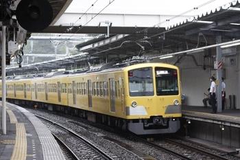2009年6月21日、萩山、玉川上水車両基地から(?)3番ホームに到着した263Fの上り回送列車。