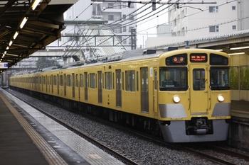 2009年6月21日、椎名町、5413レの2059F。