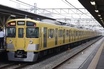 2009年6月19日、所沢、(<-本川越)2537F+2413F+2511Fの2604レ。