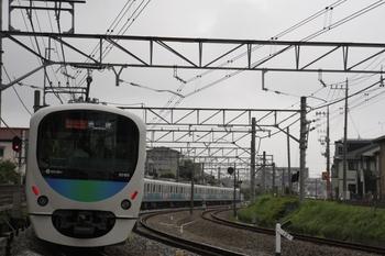 2009年6月22日 8時48分頃、秋津~所沢、32103F+38105Fの通勤急行 池袋ゆき。