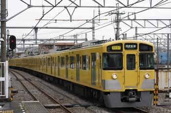 2009年6月23日、所沢、2537F+2023Fの2752レ。