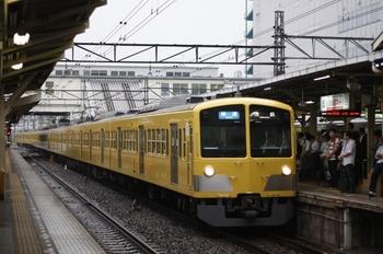 2009年6月24日、所沢、3106レの1247F+1245F+287F。