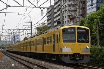 2009年6月28日、高田馬場~下落合、(<-西武新宿)1239F+1253Fの5326レ。
