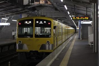 2009年7月1日、東村山、発車した1239F+281Fの6760レ。
