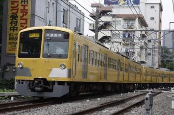 2009年7月3日、高田馬場~下落合、295F+1309Fの2754レ。