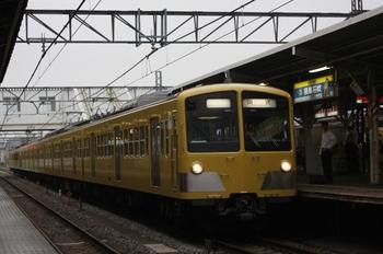 2009年7月3日 6時20分頃、所沢、1249F+281Fの上り回送列車。