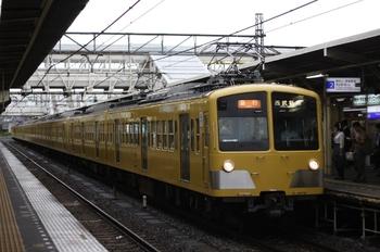 2009年7月8日、所沢、277F+1251F+1249Fの2604レ。