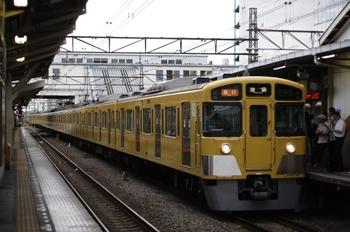 2009年7月10日、所沢、(<-池袋)2063F+2455Fの2104レ。