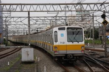 2009年7月11日、所沢、メトロ7021Fの6503レ。