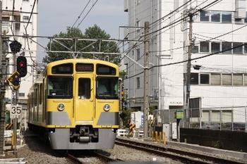 2009年7月12日、高田馬場~下落合、2059Fの5034レ。