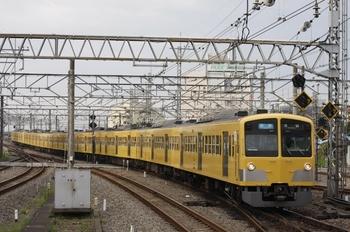 2009年7月13日、所沢、1245F+1247F+287Fの3106レ。