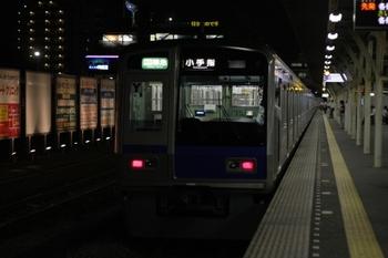 2009年7月14日、所沢、発車した6113Fの4869レ。