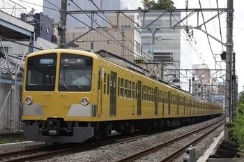 2009年7月23日、高田馬場~下落合、1309F+281Fの3309レ。
