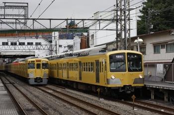 2009年7月23日、中井、281Fほかの1601レ(右)。